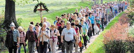 Maria-Kulm-Pilger schöpfen aus Jubiläums-Wallfahrt neue Kraft